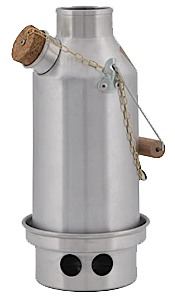 Kelly Kettle Stainless Trekker Small Kelly Kettle