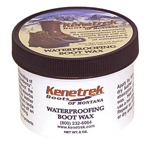 photo: Kenetrek Waterproofing Boot Wax footwear cleaner/treatment
