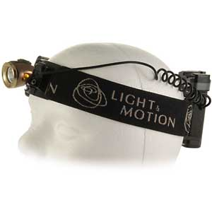 photo: Light & Motion Solite 150 headlamp