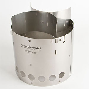 photo: Littlbug Senior solid fuel stove