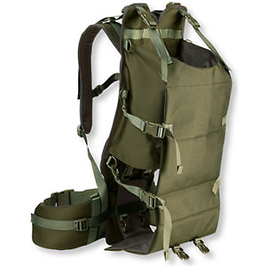 photo: L.L.Bean Hunter's Carryall Pack external frame backpack