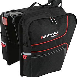 photo: Louis Garneau Explorer B-16 Panniers outfitting gear