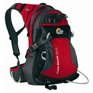 photo: Lowe Alpine Snow Attack 20+5 winter pack