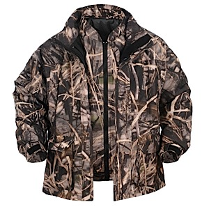 photo: Lucky Bums Double Insulated Waterfowl Parka component (3-in-1) jacket