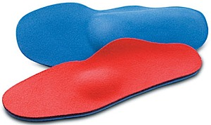 photo: Lynco L405 Sports Orthotic - Neutral Heel w/Met Pad insole