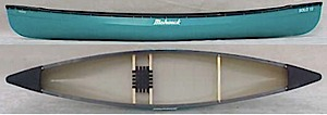 photo: Mohawk Canoes Solo 13 recreational canoe