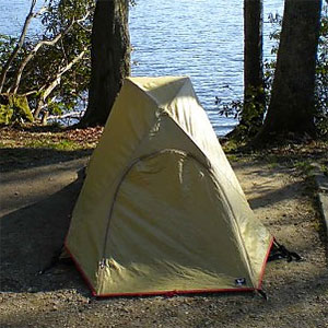 photo of a Moss Tents three-season tent