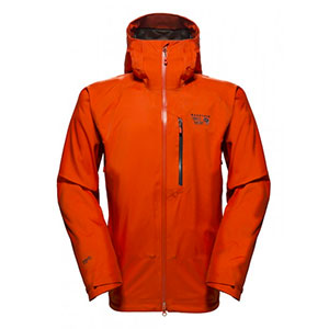 photo: Mountain Hardwear Alchemy Hooded Jacket soft shell jacket