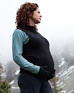 photo of a Mountain Mama fleece vest