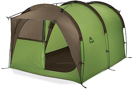 photo: MSR Backcountry Barn tent/shelter