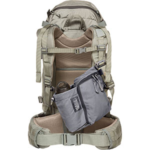 photo of a Mystery Ranch backpack accessory