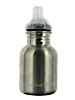 photo: New Wave Enviro Stainless Steel Children's Bottle with Sippy Cap 12 oz