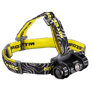 photo of a NiteCore headlamp