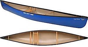 photo of a Nova Craft whitewater canoe