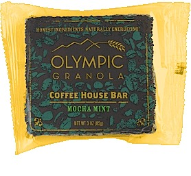 Olympia Granola Mocha Mint Coffee House Bar