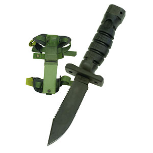 photo: Ontario Knife Company ASEK Survival Knife System fixed-blade knife
