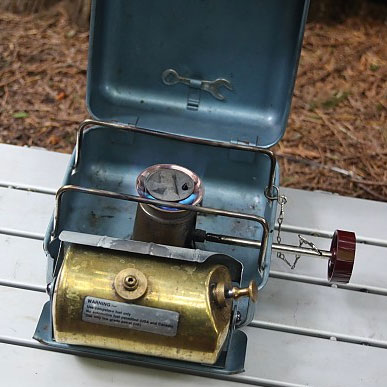 photo: Optimus 111B liquid fuel stove