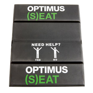 photo: Optimus (S)EAT camp chair