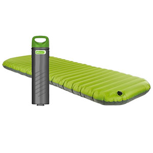photo:   Aerobed PakMat air-filled sleeping pad