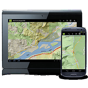 photo:   CritterMap Backcountry Navigator for Android map