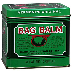 photo:   Bag Balm first aid/hygiene product
