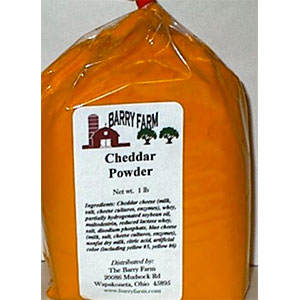 Barry Farm Cheddar Cheese Powder