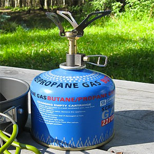 BRS 3000W Canister Stove