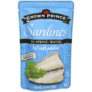 Crown Prince Sardines in Spring Water