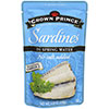 photo:   Crown Prince Sardines in Spring Water