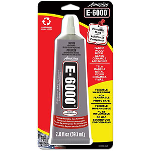photo:   E-6000 Adhesive gear care/maintenance product