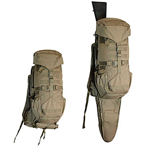 photo: Eberlestock H2 Gunrunner daypack (under 2,000 cu in)