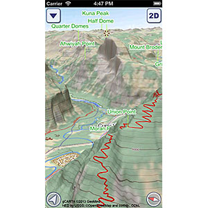 photo:   US National Parks GeoFlyer 3D Maps outdoor app
