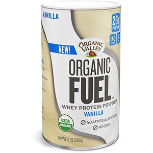 Organic Valley Organic Fuel Whey Protein Powder