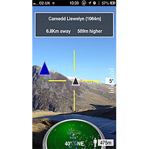 photo:   Peak Scanner outdoor app