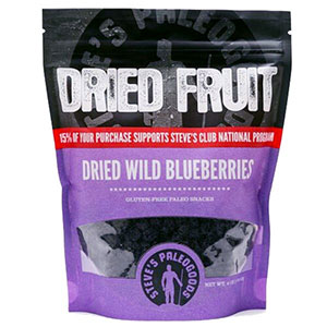 Steve's Paleogoods Dried Wild Blueberries