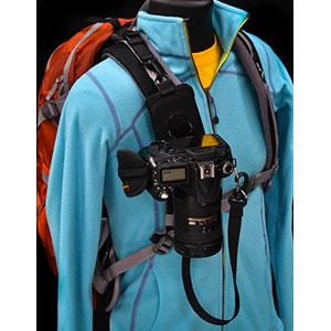 photo:   Cotton Carrier Strapshot camera accessory
