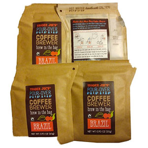 Trader Joe's Pour-Over Coffee Brewer