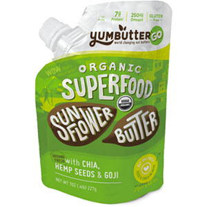 YumButter Superfood Organic Sunflower Butter