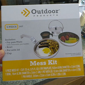 Outdoor Products Mess Kit