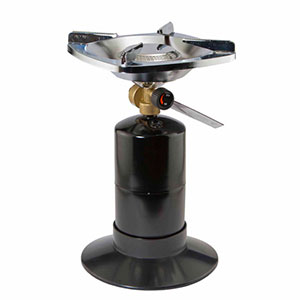photo: Ozark Trail Single Burner Propane Camp Stove compressed fuel canister stove