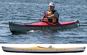 photo: Pakboats   XT-15 Solo folding kayak