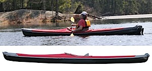 photo: Pakboats   XT-17 Solo folding kayak