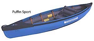photo: Pakboats   Puffin Sport 10.5 folding kayak