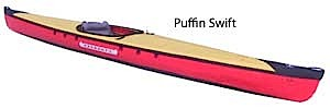 photo: Pakboats   Puffin Swift folding kayak