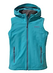photo: Patagonia Hooded Guide Vest soft shell vest