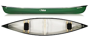 photo: Pelican International Excursion 166 DLX touring canoe