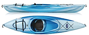 photo: Pelican International Pursuit 100 DLX recreational kayak