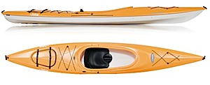 photo of a Pelican International touring kayak