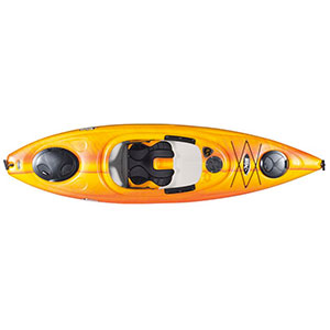 photo of a Pelican International recreational kayak