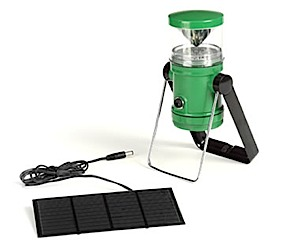 photo of a PiSAT Solar battery-powered lantern